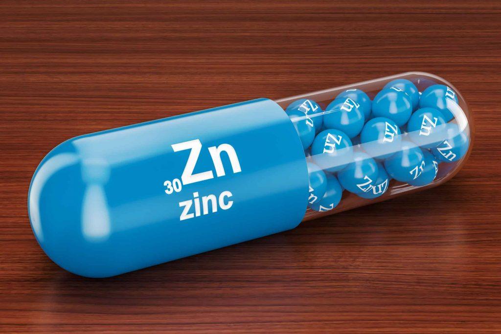 Cápsula de zinco.